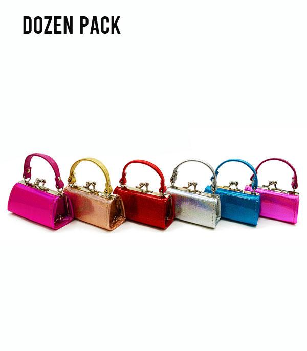 New Arrival :: Wholesale Dozen Pack Lipstick Coin Mini Purse