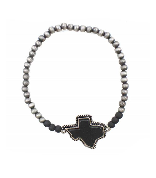New Arrival :: Wholesale Texas Map Navajo Bead Bracelet