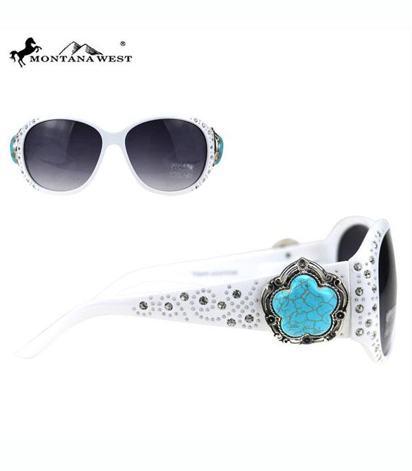 New Arrival :: Wholesale Montana West Turquoise Sunglasses