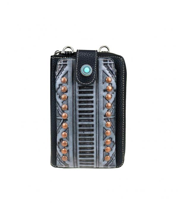 New Arrival :: Wholesale Trinity Ranch Phone Wallet Crossbody