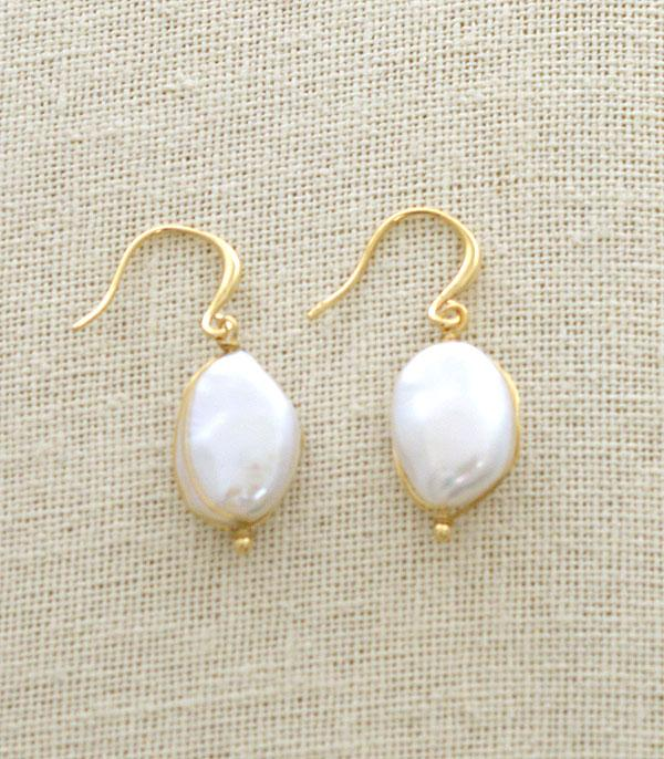New Arrival :: Wholesale Freshwater Pearl Dangle Earrings