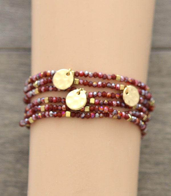 New Arrival :: Wholesale Multi Strand Beaded Bracelet