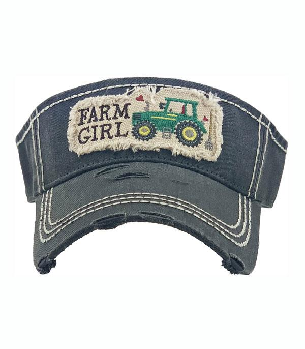 New Arrival :: Wholesale Farm Girl Vintage Visor