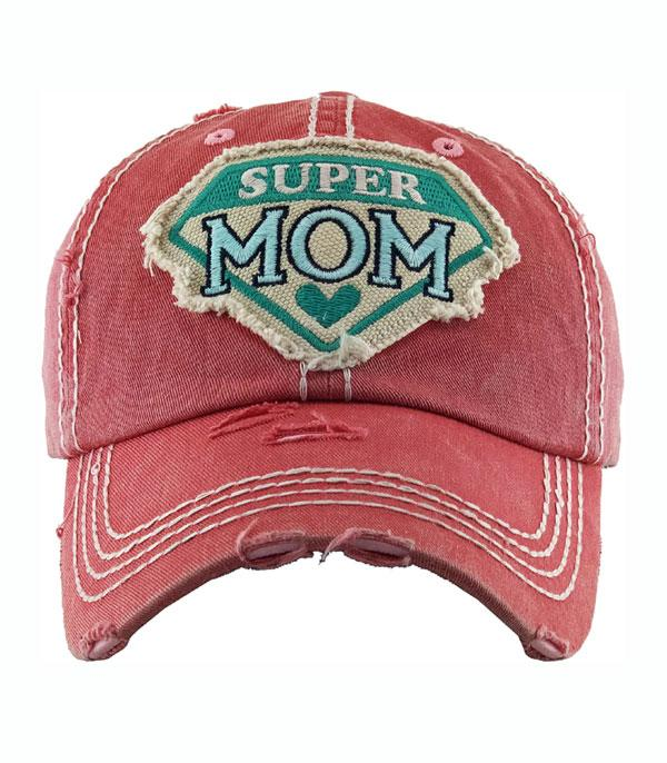 New Arrival :: Wholesale Super Mom Vintage Ballcap