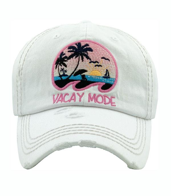 New Arrival :: Wholesale Vacay Mode VintageBallcap
