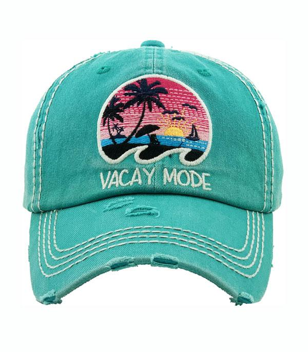 New Arrival :: Wholesale Vacay Mode Vintage Ballcap