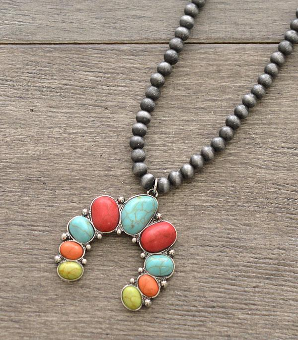 New Arrival :: Wholesale Squash Blossom Necklace