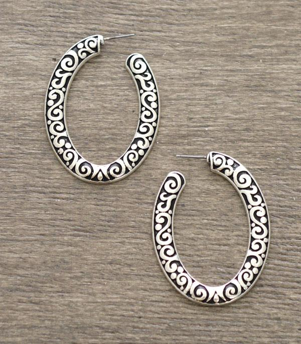 New Arrival :: Wholesale Casting Hoop Earrings