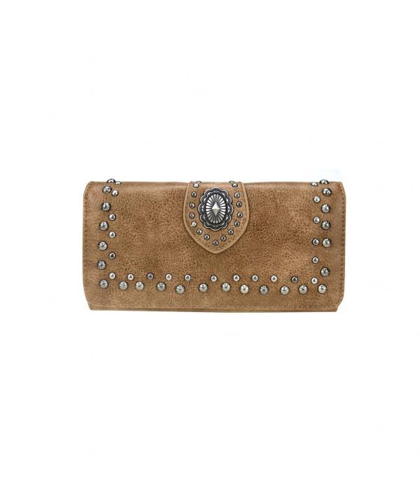 New Arrival :: Wholesale Montana West Concho Wallet