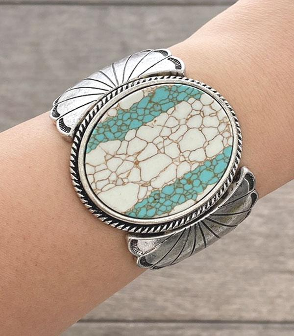 New Arrival :: Wholesale Turquoise Statement Bracelet