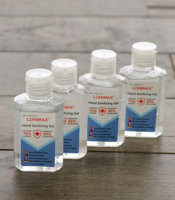 New Arrival :: Wholesale 4PC Pack Hand Sanitizer