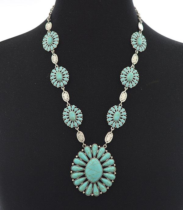 New Arrival :: Wholesale Western Statement Necklace