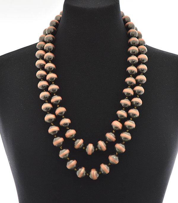 "New Arrival :: Wholesale 60"" Navajo Pearl Beads Necklace"