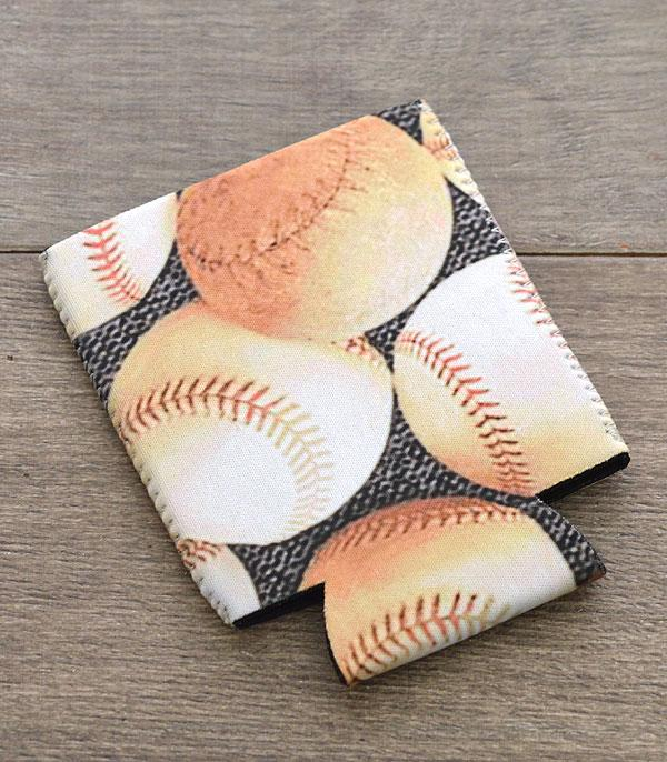 New Arrival :: Wholesale Baseball Print Drink Sleeve