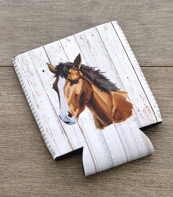 New Arrival :: Wholesale Western Horse Print Drink Sleeve
