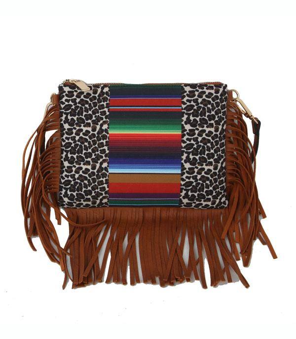 New Arrival :: Wholesale Sunflower Fringed Canvas Crossbody Bag