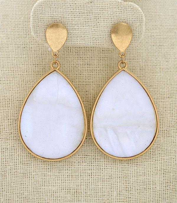 New Arrival :: Wholesale Avalon Teardrop Earrings