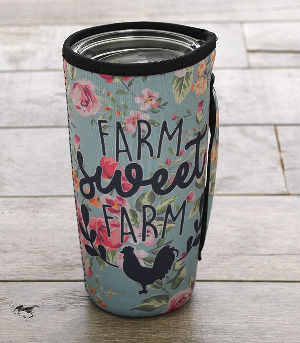 New Arrival :: Wholesale Farm Sweet Farm Tumbler Sleeve