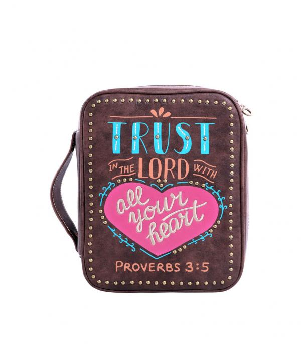 New Arrival :: Wholesale Montana West Scripture Bible Cover