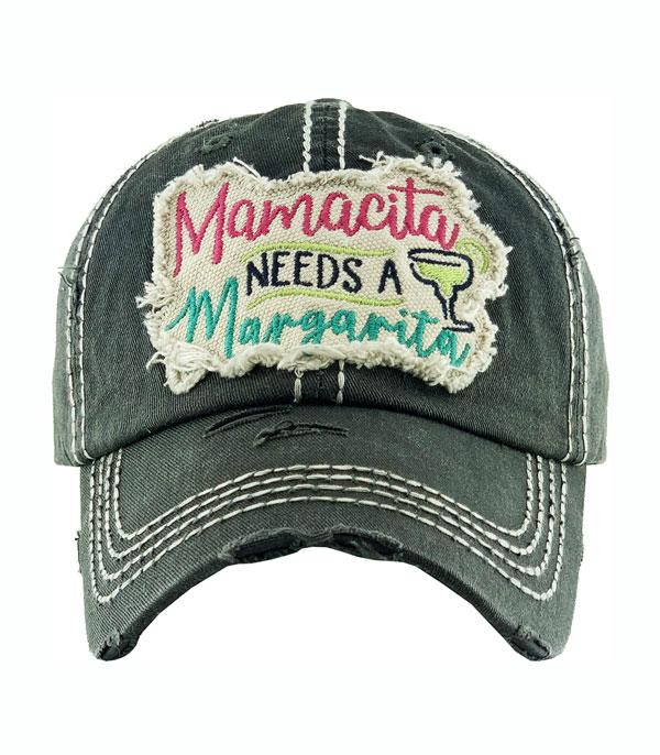 New Arrival :: Wholesale Mamacita Needs Margarita Vintage Hat