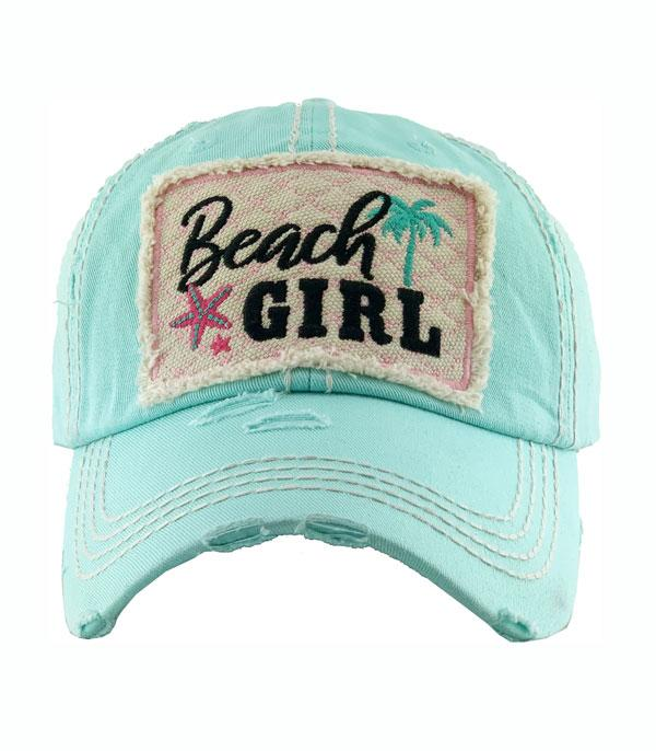 New Arrival :: Wholesale Beach Girl Vintage Ballcap