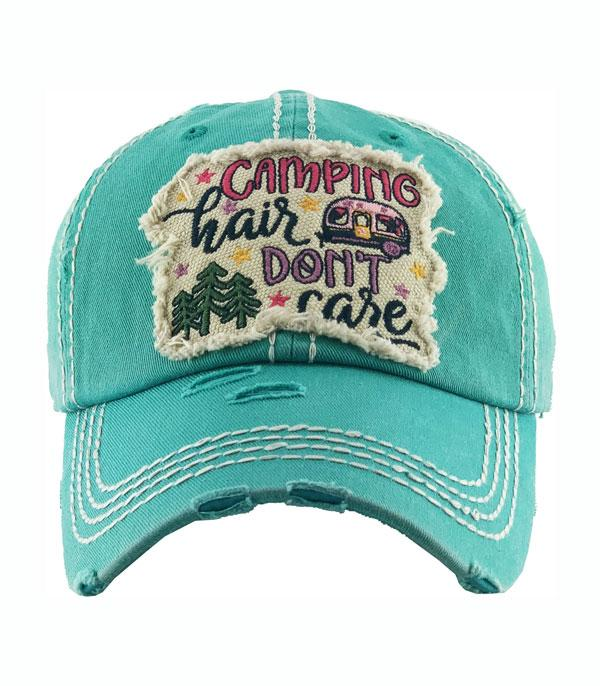 New Arrival :: Wholesale Camping Hair Vintage Ballcap