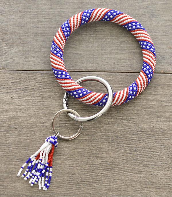 WHAT'S NEW :: Wholesale US Seed Bead Bangle Keychain