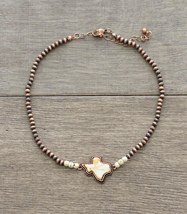 New Arrival :: Wholesale Texas Map Navajo Bead Choker