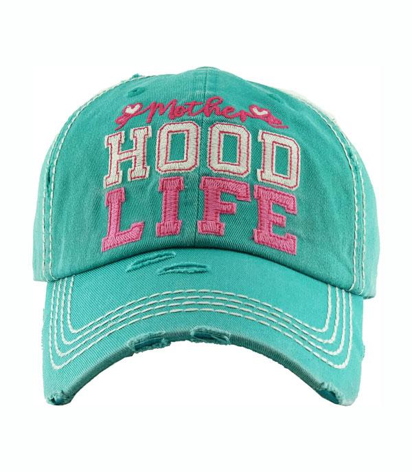 New Arrival :: Wholesale Motherhood Life Vintage Ballcap