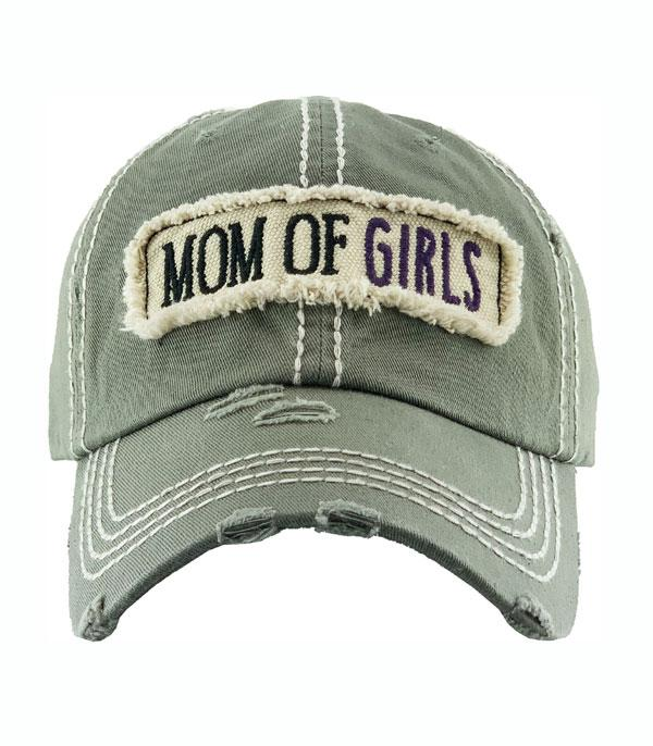New Arrival :: Wholesale Mom of Girls Vintage Ballcap