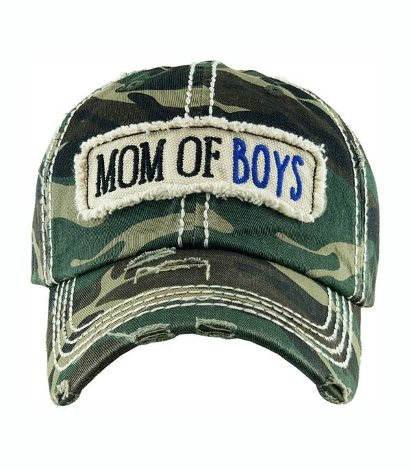 New Arrival :: Wholesale Mom of Boys Vintage Ballcap