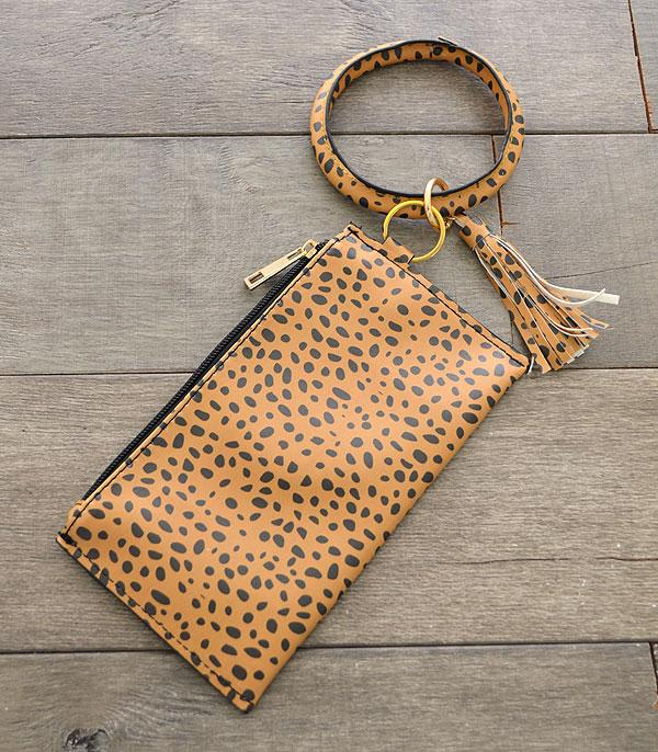 New Arrival :: Wholesale Cheetah Print Bangle Pouch