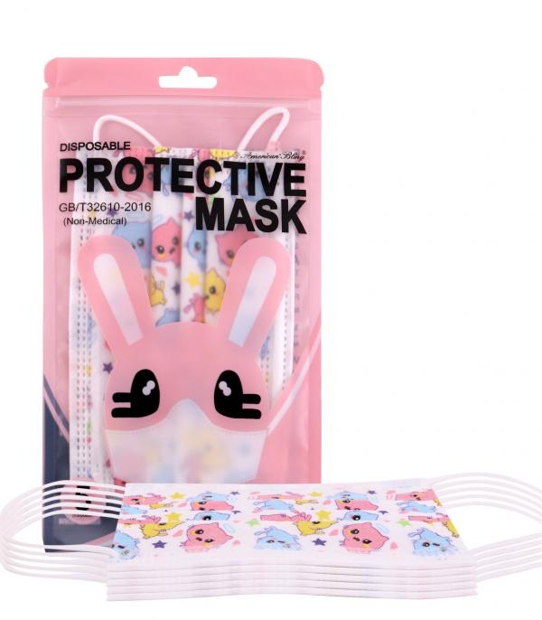 New Arrival :: Wholesale 5PC Pack Disposable Kids Face Mask