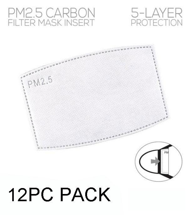 New Arrival :: Wholesale 12PC Pack Face Mask Filter