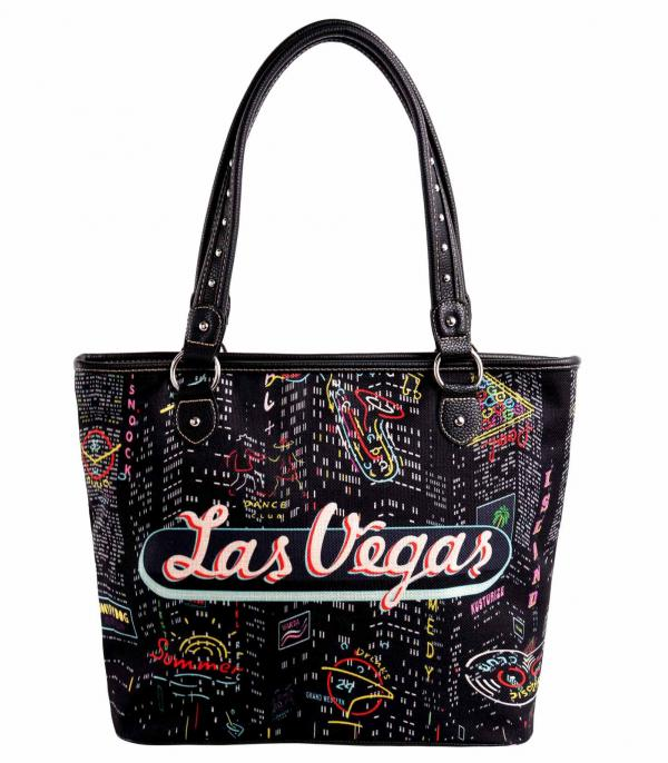 New Arrival :: Wholesale Montana West Vegas Canvas Tote