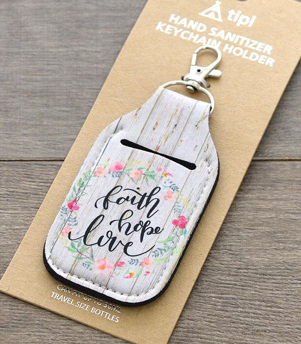 New Arrival :: Wholesale Inspiration Hand Sanitizer Keychain