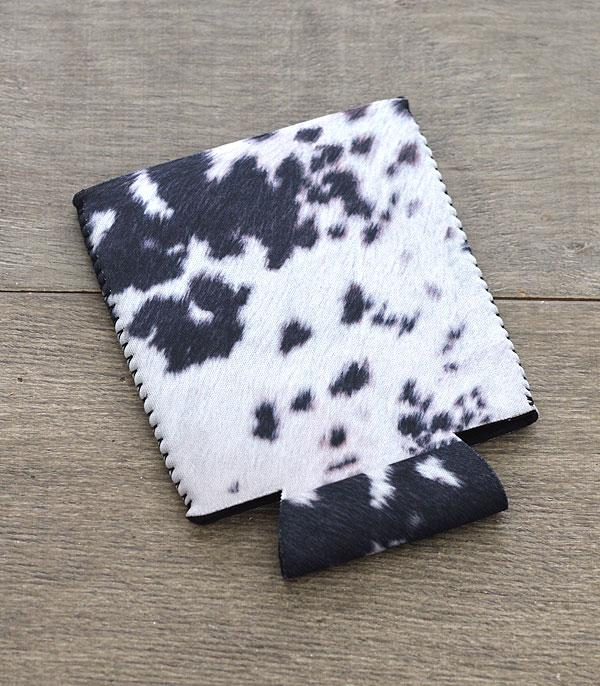 New Arrival :: Wholesale Cowhide Print Drink Sleeve