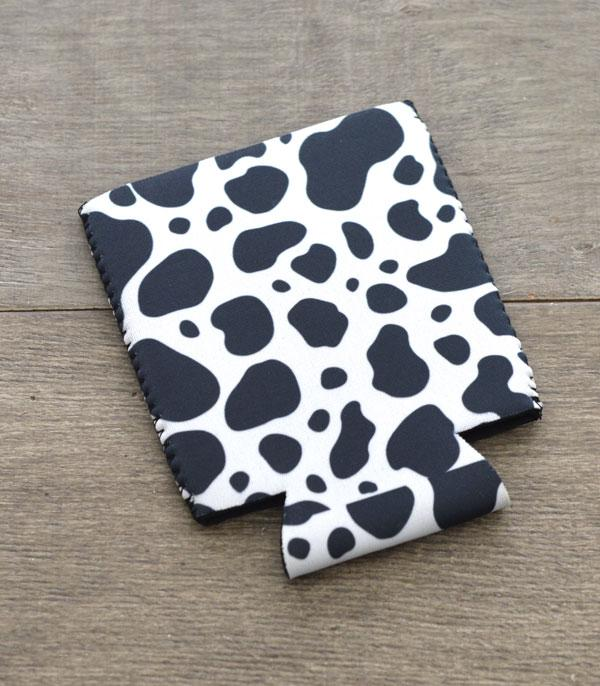 New Arrival :: Wholesale Cow Print Drink Sleeve