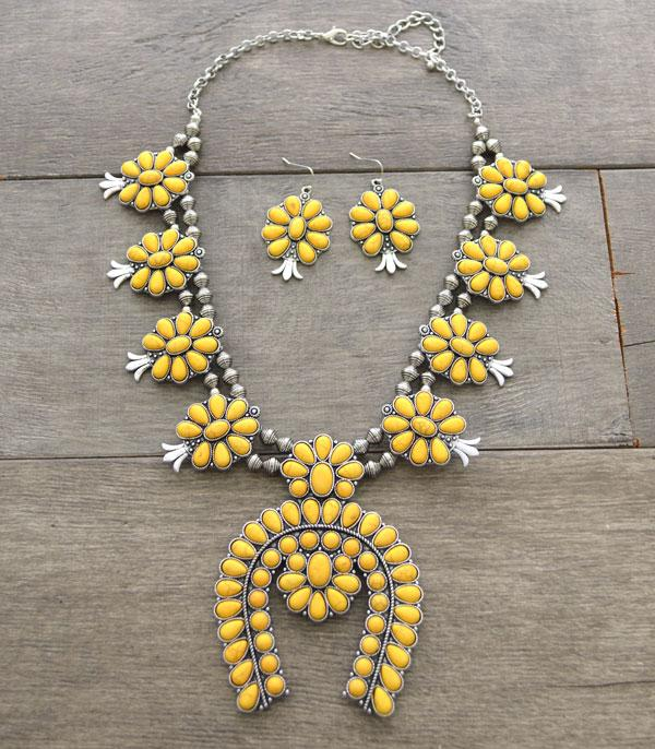 New Arrival :: Wholesale Squash Blossom Necklace Set