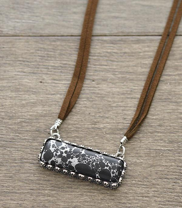 New Arrival :: Wholesale Stone Bar Necklace