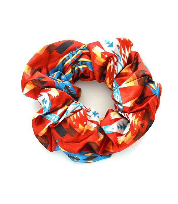 New Arrival :: Wholesale Aztec Navajo Print Hair Scrunchie