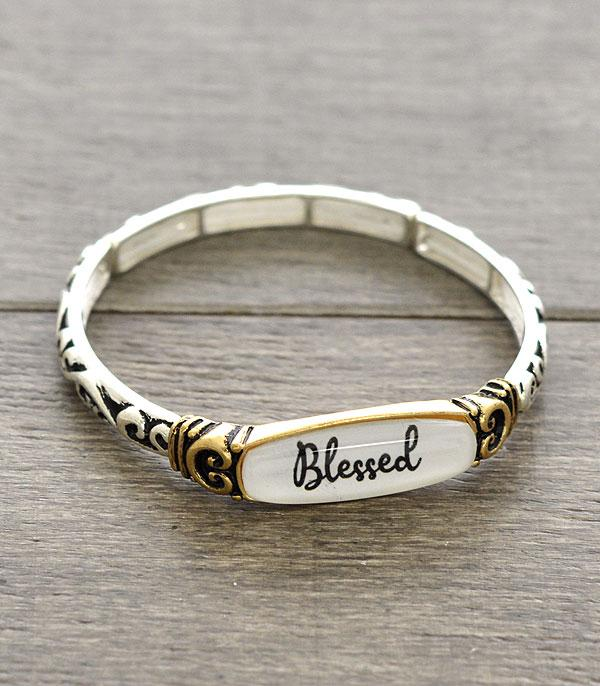 New Arrival :: Wholesale Inspiration Blessed Bracelet
