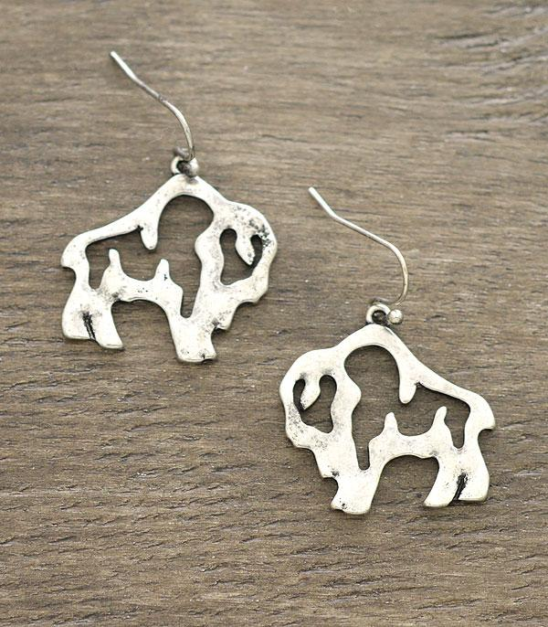 New Arrival :: Wholesale Buffalo Dangle Earrings