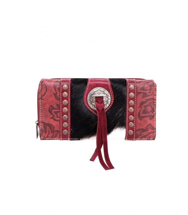 New Arrival :: Wholesale Trinity Ranch Cowhide Hair Wallet