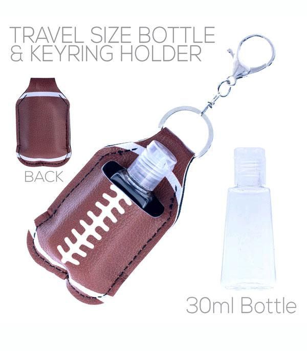 New Arrival :: Wholesale Football Hand Sanitizer Keychain