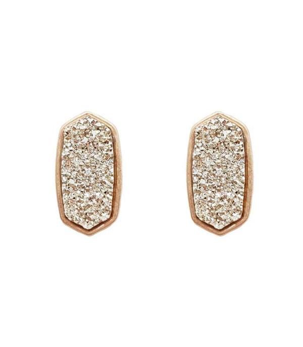 New Arrival :: Wholesale Druzy Post Earrings