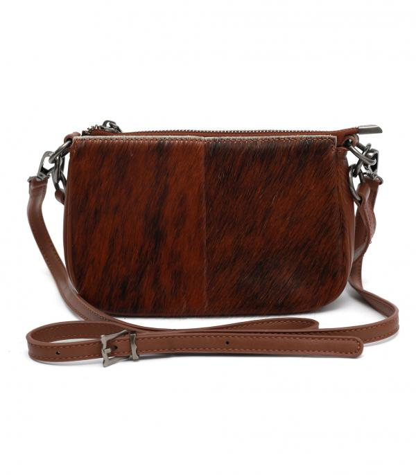 New Arrival :: Wholesale Genuine Leather Calf Hair Crossbody Bag