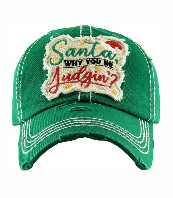 New Arrival :: Wholesale Christmas Santa Vintage Ballcap
