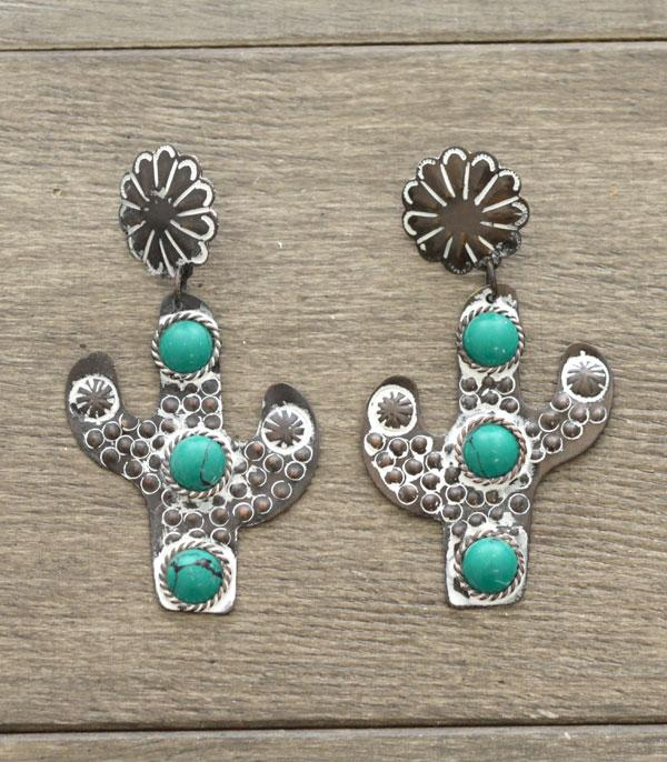 New Arrival :: Wholesale Handmade Cactus Earrings