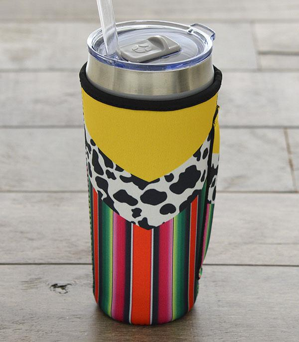 New Arrival :: Wholesale Tipi Serape Tumbler Drink Sleeve